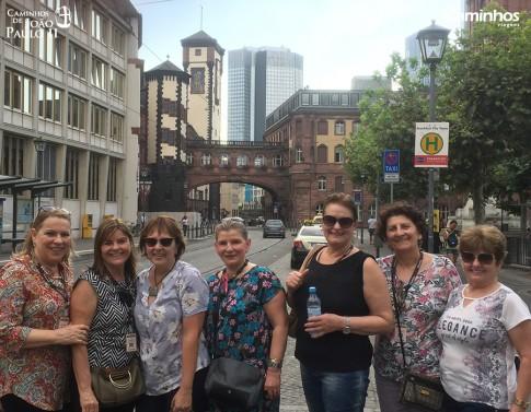 Caminheiras em Frankfurt, Alemanha