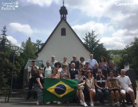 Família Caminhos no Santuário de Schoenstatt, Vallendar, Alemanha