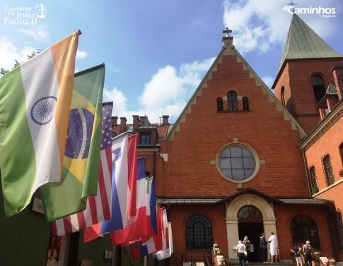 Santuário da Divina Misericórdia, Cracóvia, Polônia