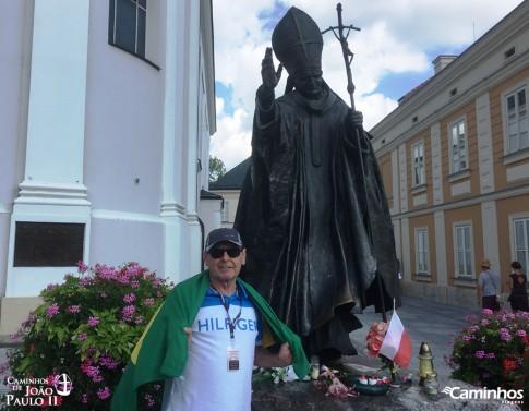 Estátua de São João Paulo II, Wadowice, Polônia