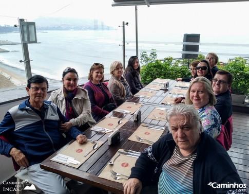 Família Caminhos em Lima, Peru