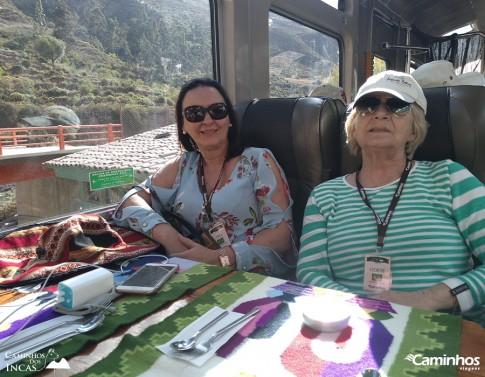 Viagem de trem para Machu Picchu