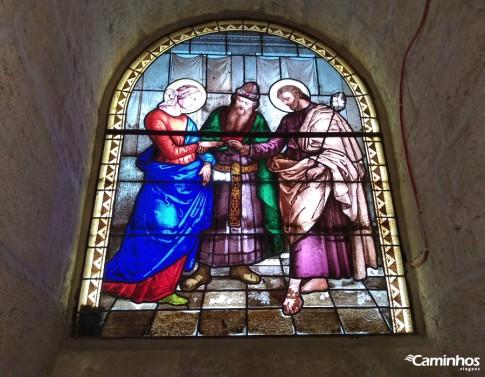 Casamento de Maria e José na Igreja do santo, Nazaré, Israel