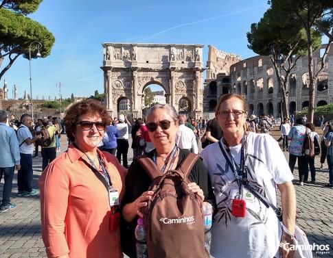 Arco de Constantino, Roma, Itália