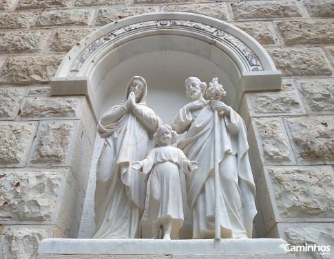 Sagrada Família na Igreja de São José, Nazaré, Israel