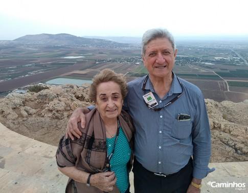 Monte do Precipício, Nazaré, Israel