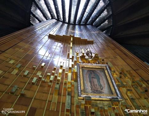 Nossa Senhora de Guadalupe no seu Santuário, Cidade do México
