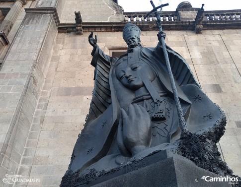 Estátua de São João Paulo II, Cidade do México