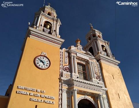 Igreja de Nossa Senhora dos Remédios, Cholula, México
