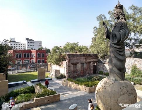 Estátua do Cristo Rei, Santuário de Guadalupe, Cidade do México