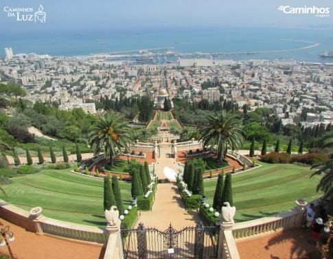 Jardins Bahai, Haifa, Israel