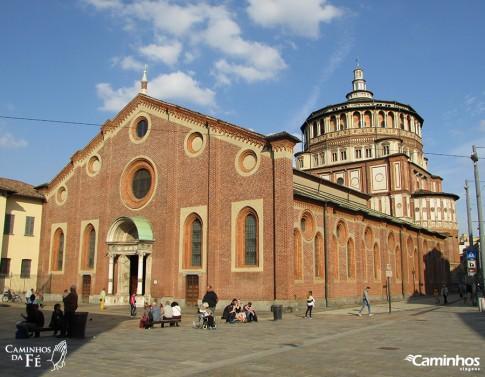 Convento de Santa Maria das Graças, Milão, Itália