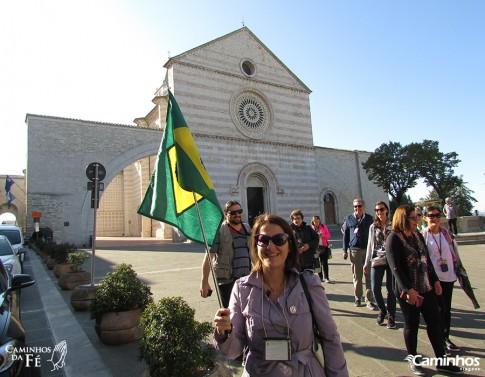 Basílica de Santa Clara, Assis, Itália