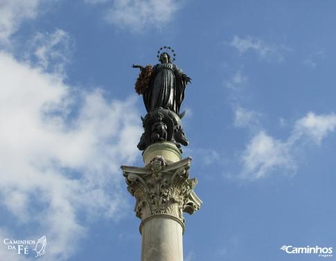 Imaculada Conceição, Praça da Espanha, Roma, Itália