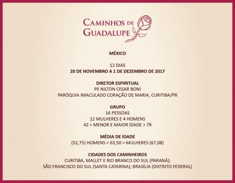 7º Caminhos de Guadalupe, 87ª Viagem da Caminhos, 11ª de 2017