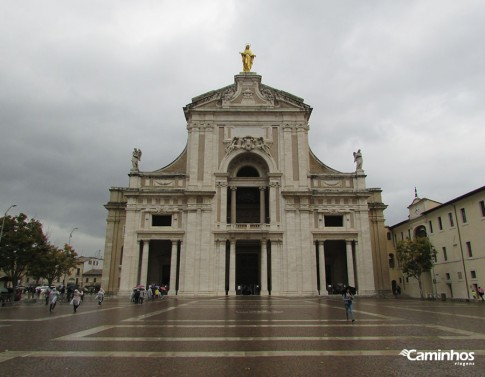 Basílica de Nossa Senhora dos Anjos, Assis, Itália