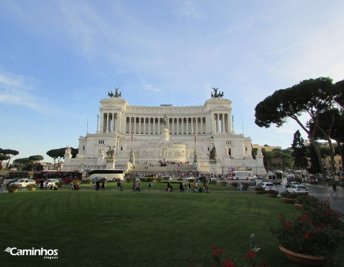 Monumento a Vittorio Emanuele II, também conhecido como Bolo da Noiva, Roma, Itália