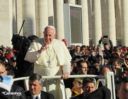 Papa Francisco na Praça São Pedro, Vaticano