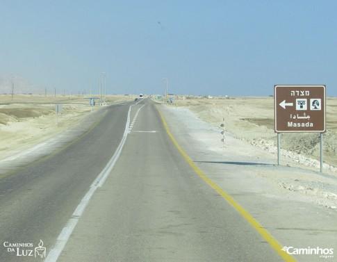 A caminho de Massada