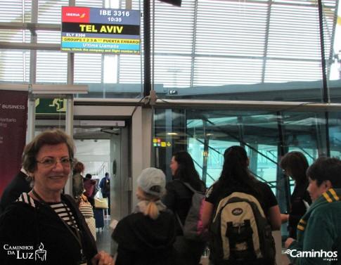 A caminho de Tel Aviv