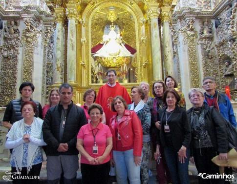 Família Caminhos na Capela Nossa Senhora do Rosário, Puebla