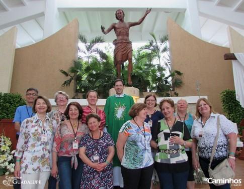 Família Caminhos na Igreja do Cristo Ressuscitado, Cancún