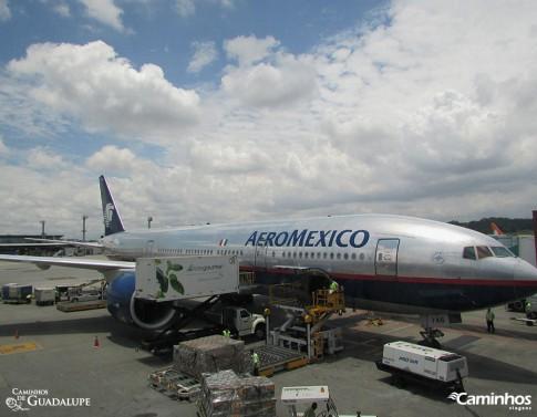 Chegando na Cidade do México