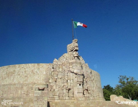 Monumento à Pátria, Mérida