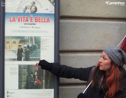 """""""A vida é bela"""", Arezzo"""