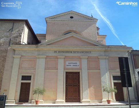 Santuário de Santa Ângela, Foligno