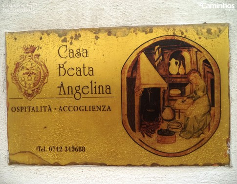 Casa da Beata Angelina, Foligno