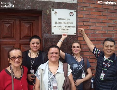 Antiga casa do Papa Francisco em Buenos Aires