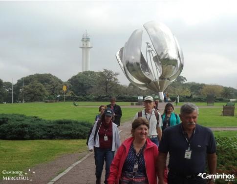 Floralis Generica, Praça das Nações Unidas, Buenos Aires