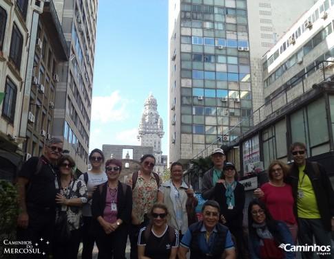 Família Caminhos em Montevidéu