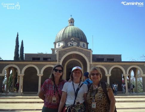 Igreja no Monte das Bem Aventuranças, Israel
