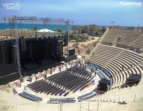 Teatro de Cesareia Marítima, Israel