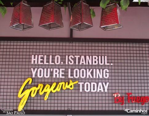 """""""Olá Istambul, você está maravilhosa hoje"""", Turquia"""