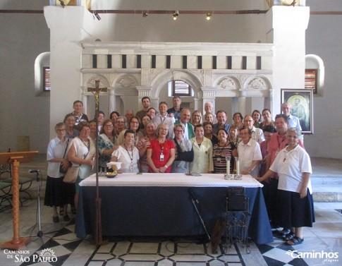 Família Caminhos na Igreja de São Paulo, Tarso, Turquia