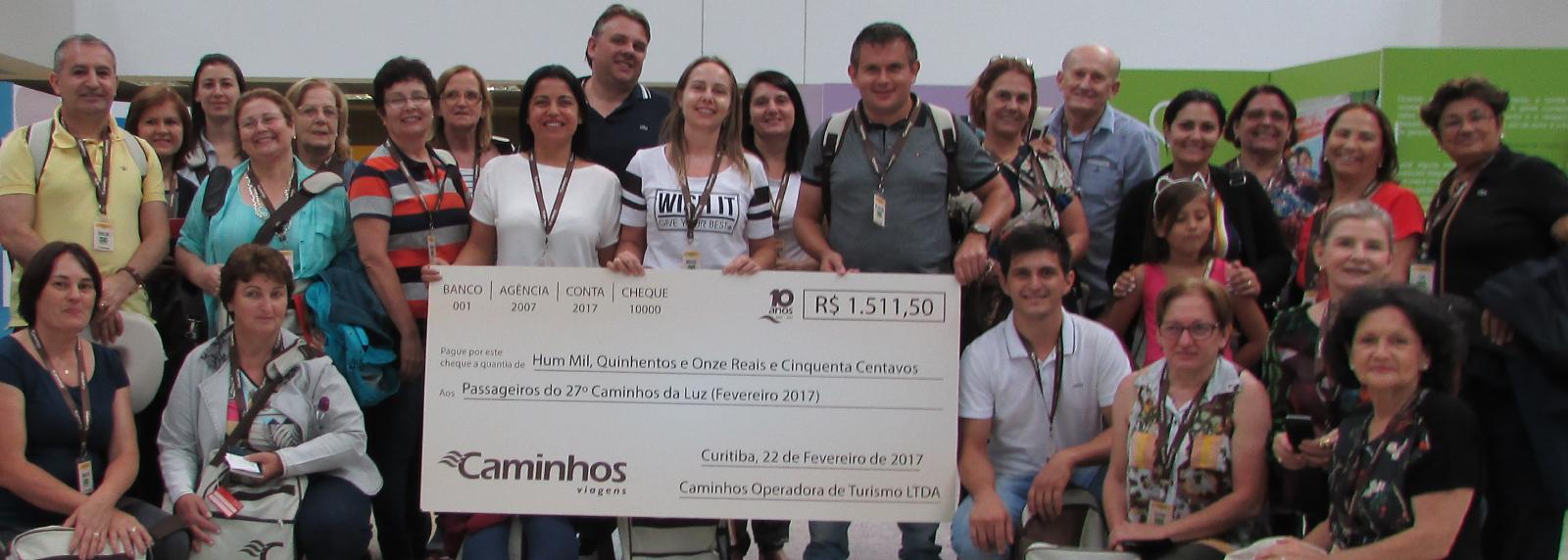 Primeiro grupo de 2017 recebeu dinheiro para viajar